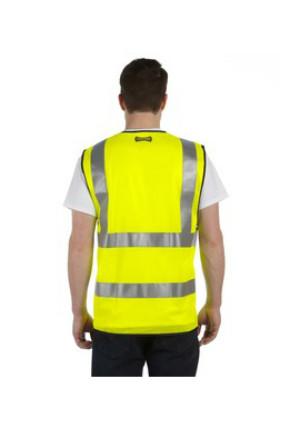 OccuNomix LUXSSF - Premium Solid Dual Stripe Vest, Class 2