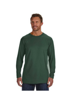 09e71f6c Hanes 498L - 4.5 oz., 100% Ringspun Cotton nano-T® Long-Sleeve T ...