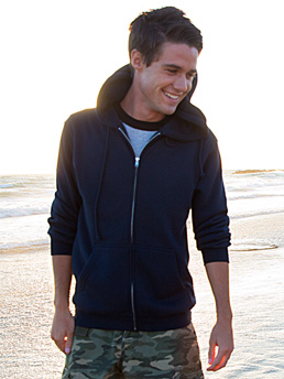 Alstyle 1574 - Full-Zip Hooded Fleece