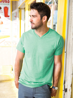 Alstyle 5300 - Adult Jersey V-Neck Tee