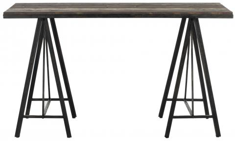 Safavieh - AMH4116A TROY CONSOLE TABLE - DARK BROWN