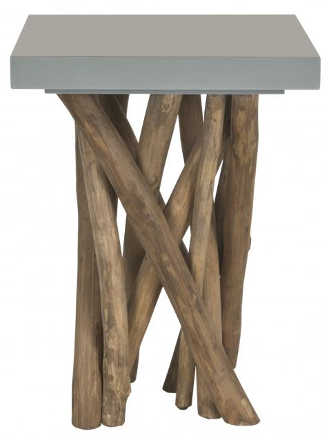 Safavieh - FOX1019B HARTWICK END TABLE - GRAY