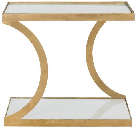 Safavieh - FOX2526B SULLIVAN ACCENT TABLE - GOLD