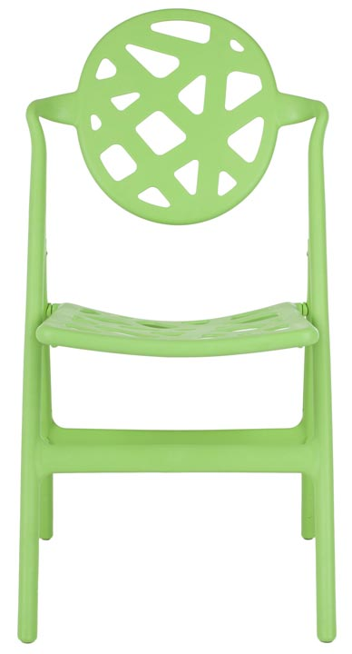 Safavieh - FOX3502C-SET4 KENDALL FOLDING CHAIR- GREEN ...