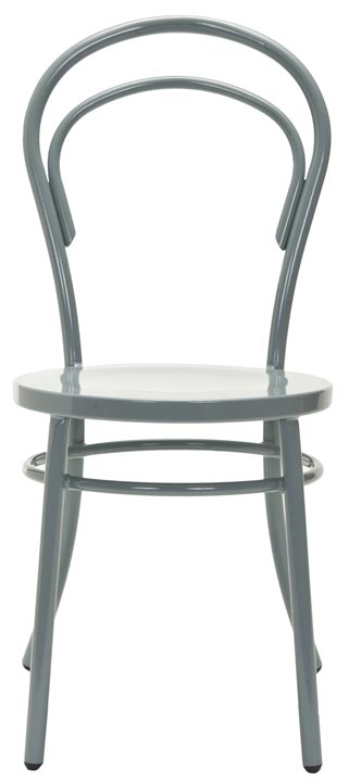 Safavieh - FOX5004C GATRIA SIDE CHAIR- GREY (SET OF ...