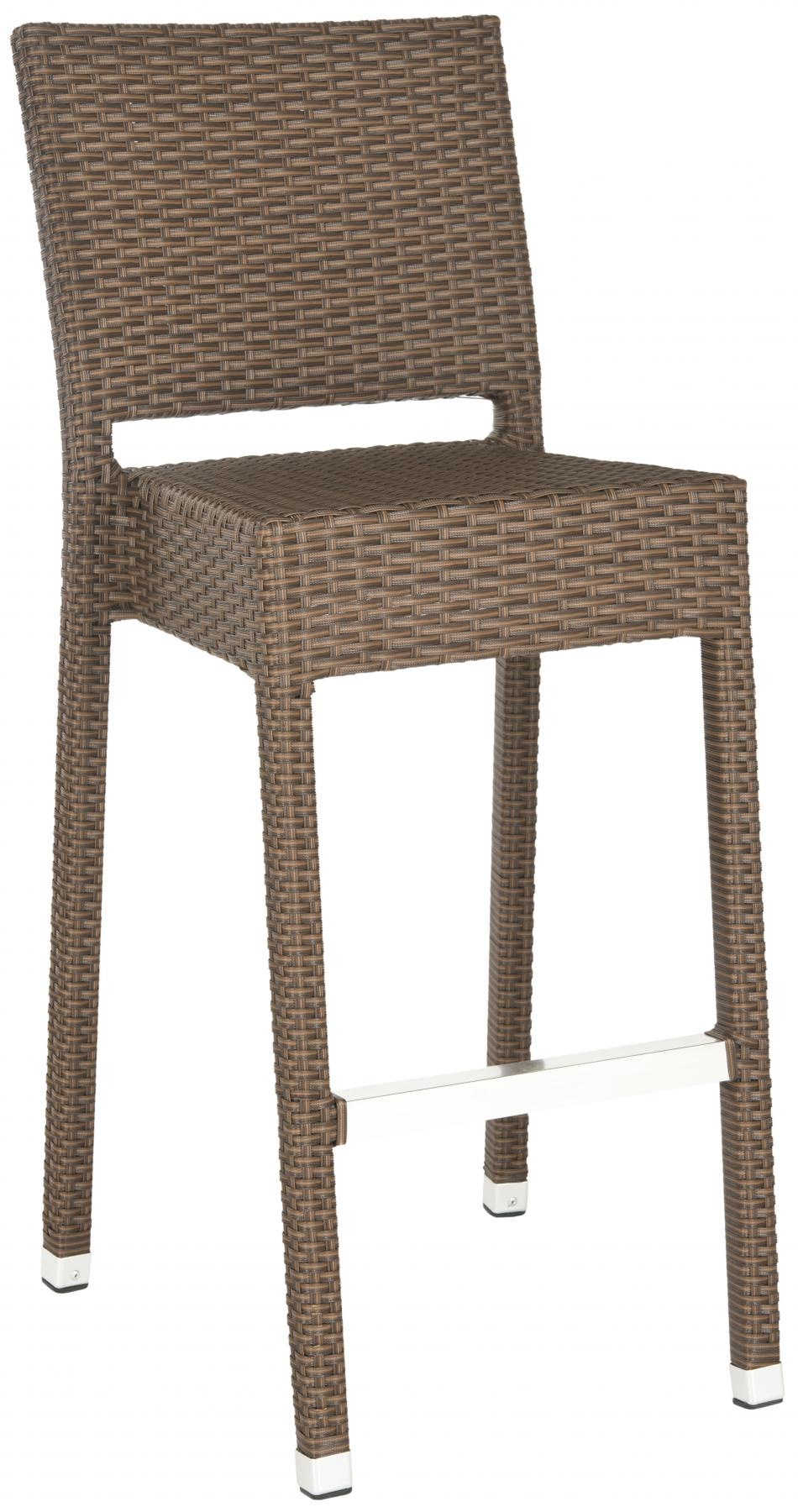 Safavieh - FOX5201B BETHEL INDOOR-OUTDOOR BAR STOOL