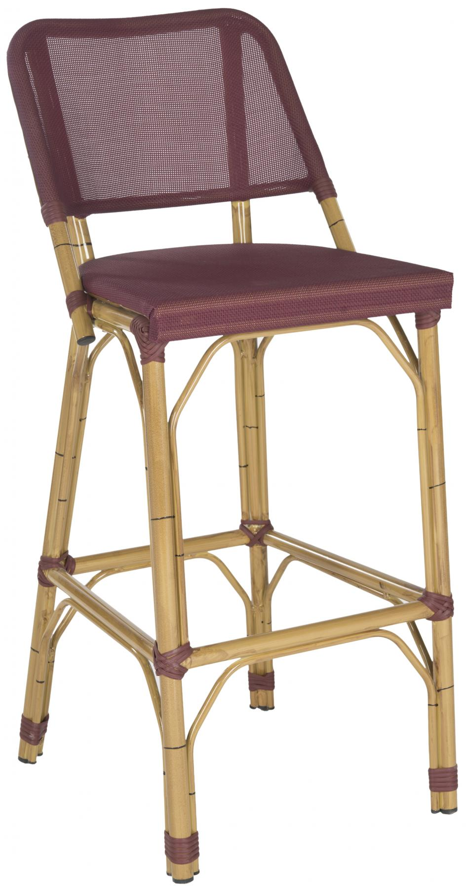 Safavieh - FOX5208B DELTANA INDOOR/OUTDOOR BARSTOOL ...