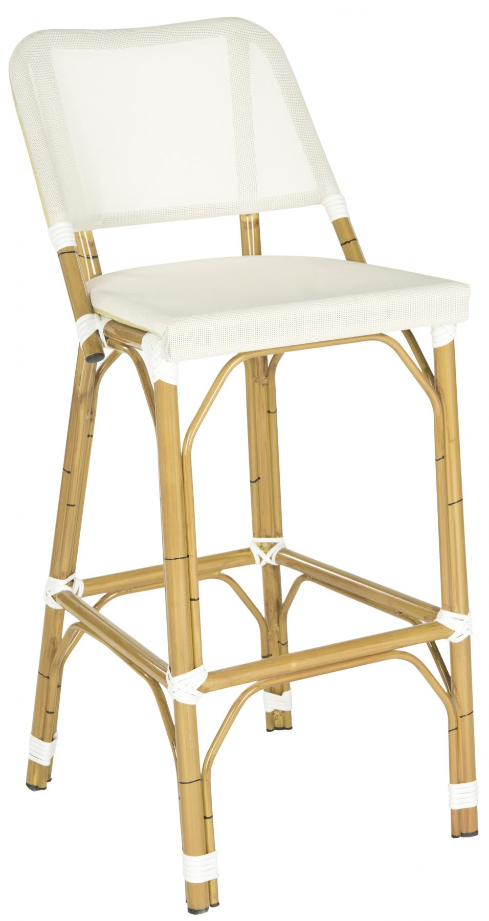 Safavieh - FOX5208C DELTANA INDOOR/OUTDOOR BARSTOOL ...