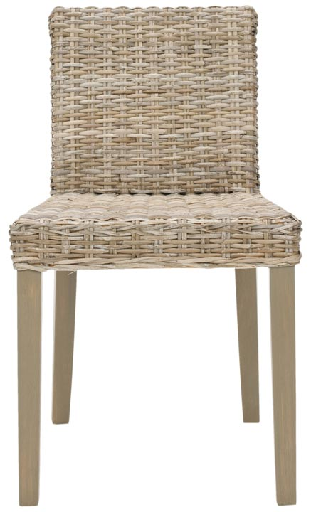 Safavieh - FOX6004A TULUM SIDE CHAIR (SET OF TWO)