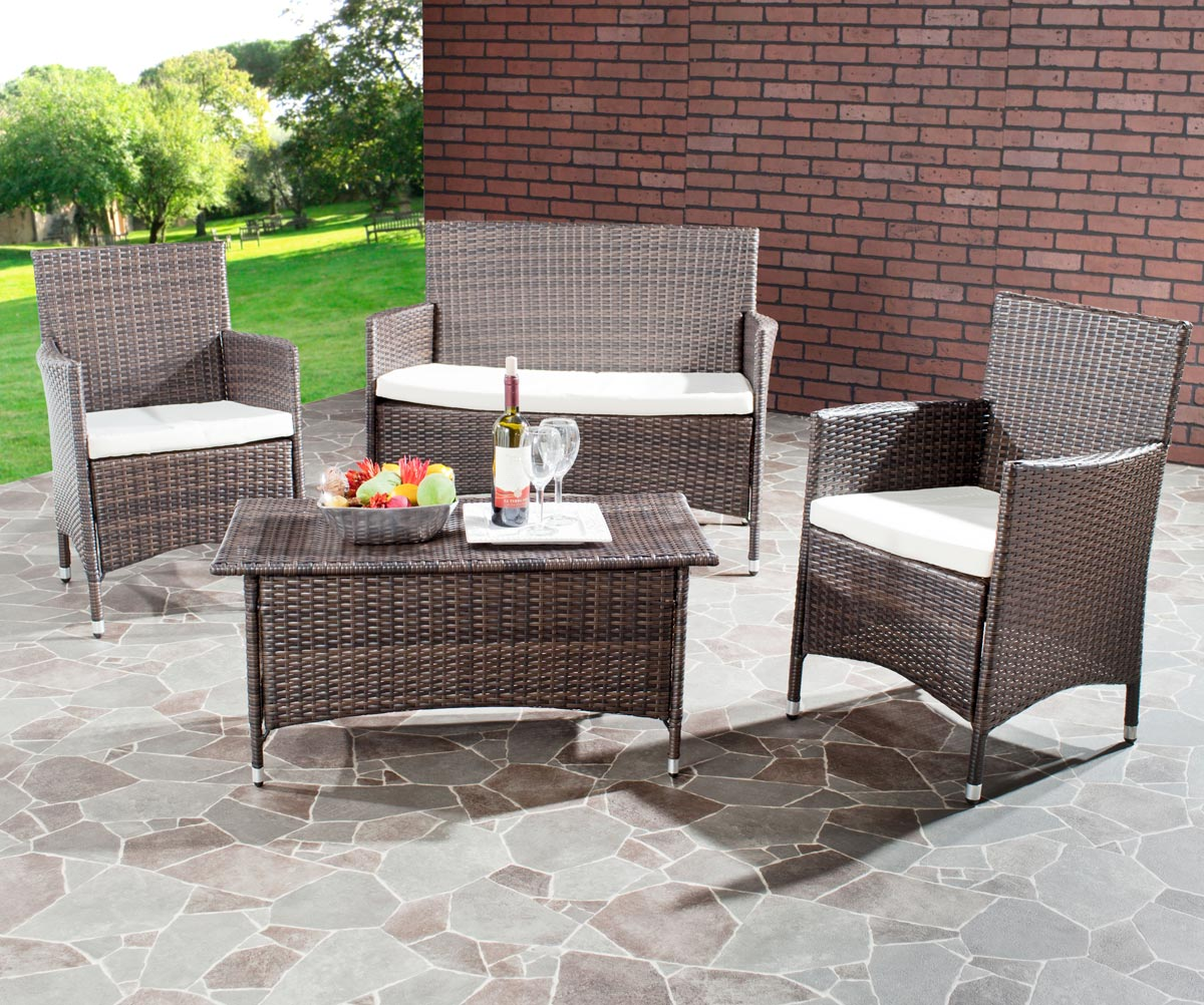 FOX6005A MOJAVI 4 PIECE WICKER SET $2,019.60