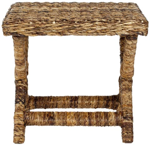 Safavieh - FOX6529A MANOR WICKER X-BENCH