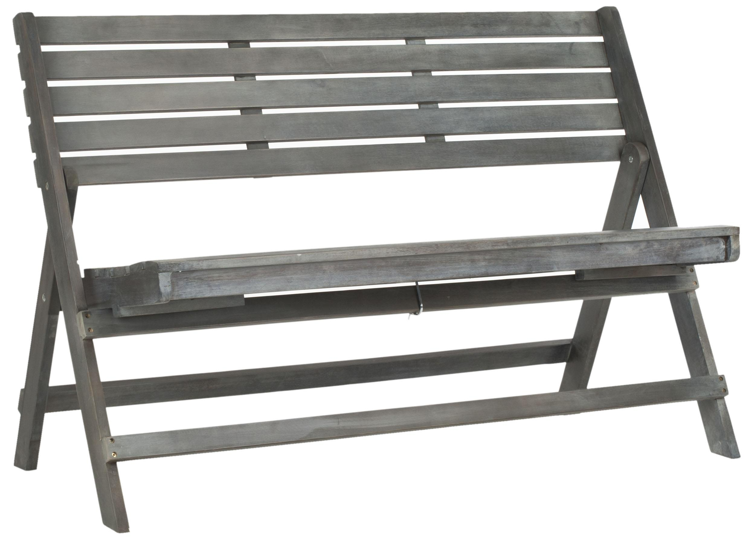 Safavieh - FOX6705A LUCA FOLDING BENCH