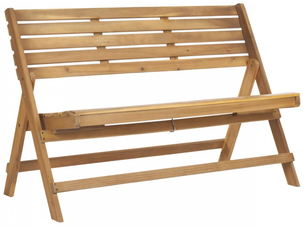 Safavieh - FOX6705B LUCA FOLDING BENCH