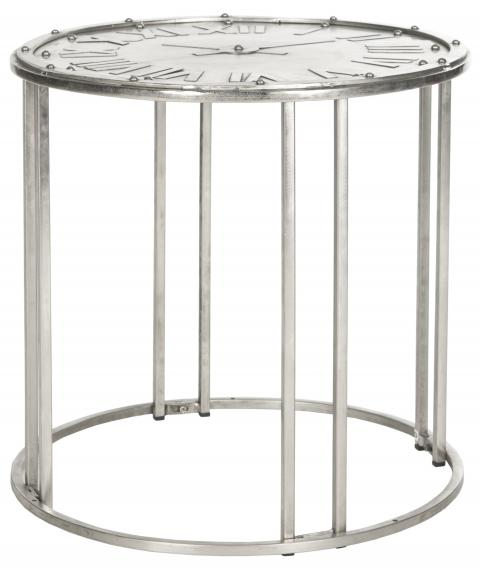 Safavieh - FOX7207 ROMAN CLOCK END TABLE