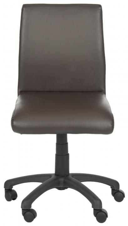 Safavieh - FOX8501A BROWN ARMLESS DESK CHAIR