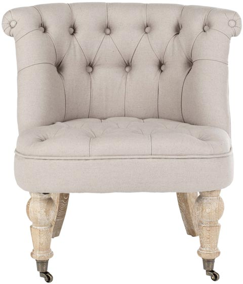 Safavieh - HUD8209B BABY TUFTED CHAIR