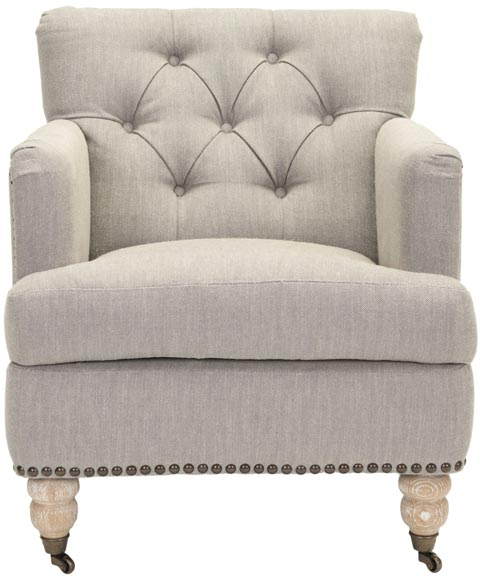 Safavieh - HUD8212E COLIN TUFTED CLUB CHAIR