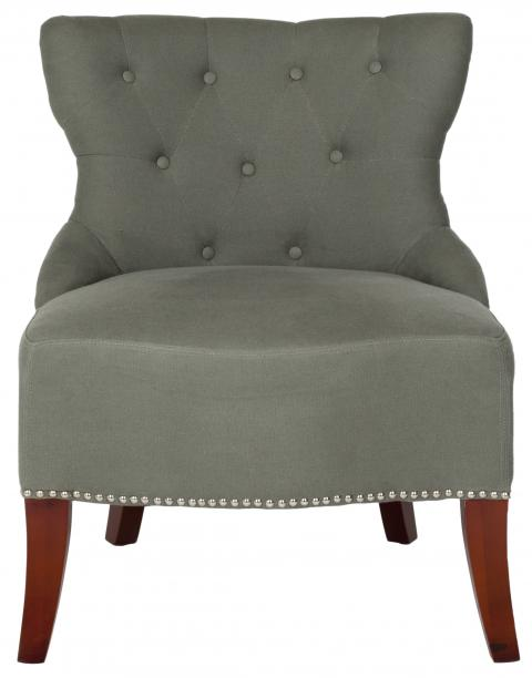 Safavieh - HUD8219C ZACHARY CHAIR - GRAY