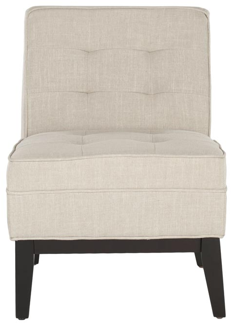 Safavieh - MCR1000A ANGEL ARMLESS CLUB CHAIR