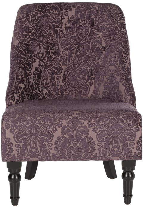 Safavieh - MCR1001A AMONDI ARMLESS CLUB CHAIR