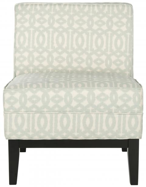Safavieh - MCR1006B ARMOND CHAIR - CREAM/SILVER
