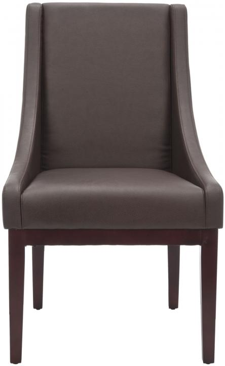 Safavieh - MCR4500C SLOPING CHAIR - BROWN