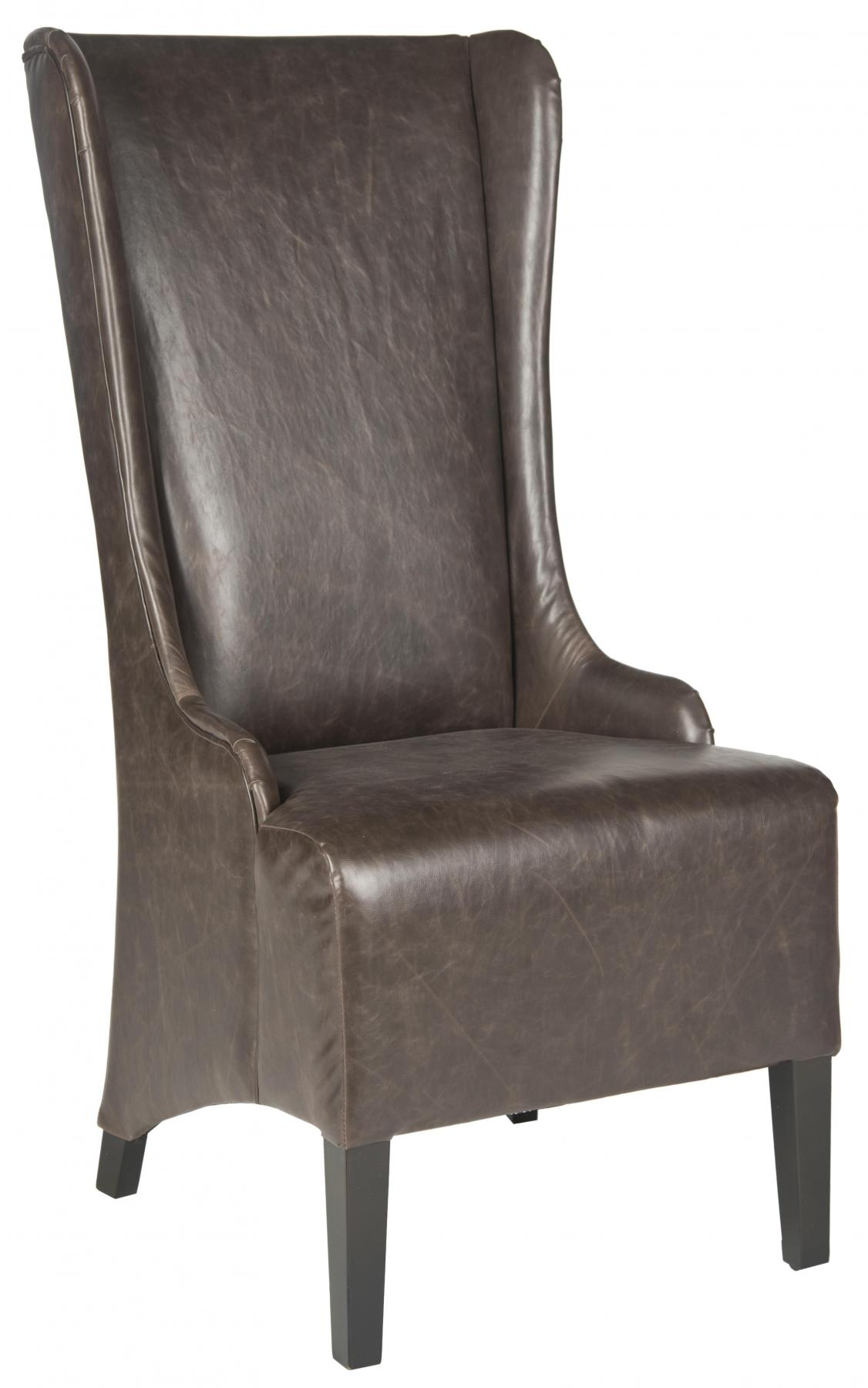 Safavieh - MCR4501N BACALL DINING CHAIR - ANTIQUE BROWN
