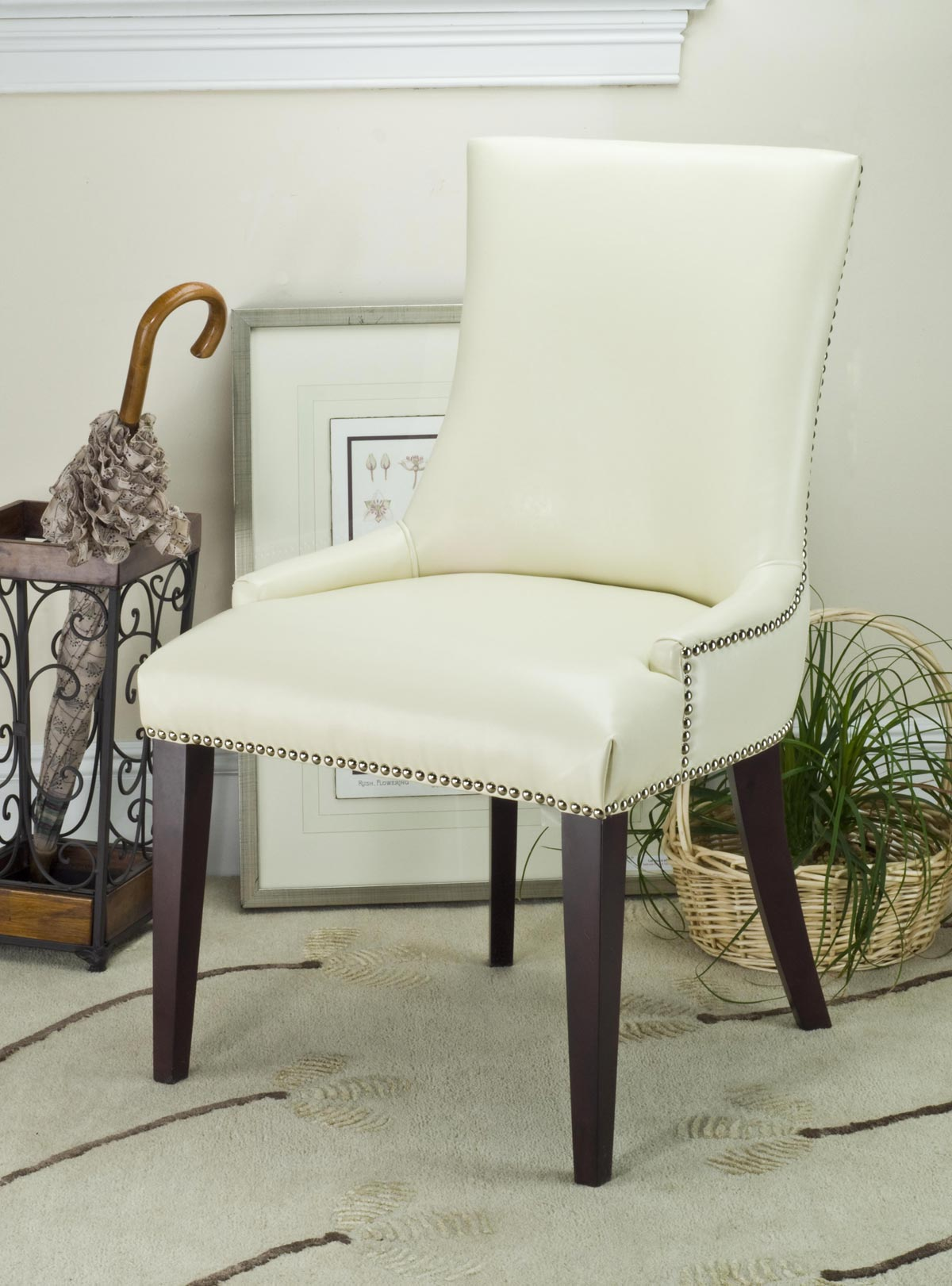 Safavieh - MCR4502B BECCA DINING CHAIR