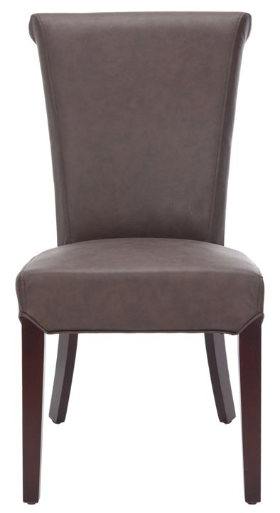 Safavieh - MCR4508B KIERA SIDE CHAIR - BROWN (SET OF ...