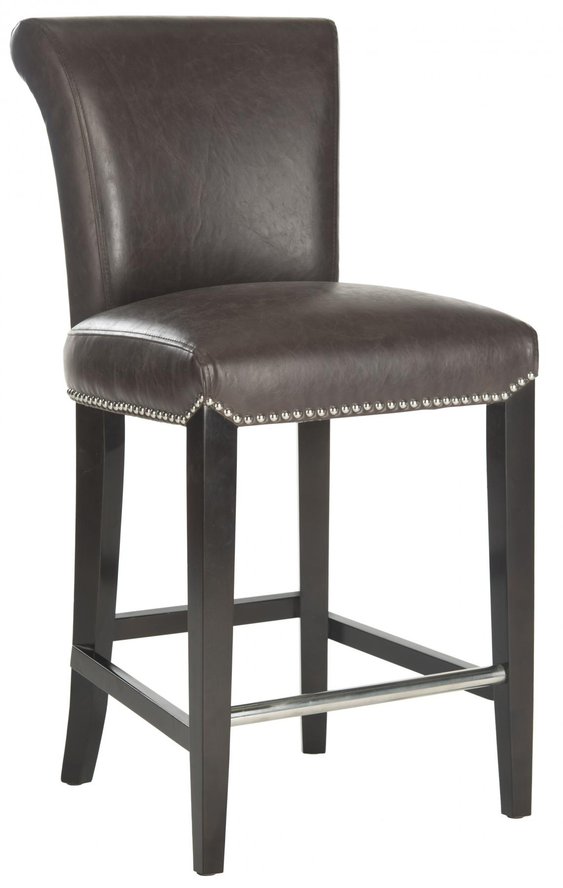 Safavieh - MCR4509G SETH COUNTER STOOL - ANTIQUE BROWN