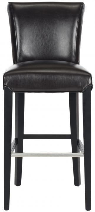 Safavieh - MCR4510B SETH BAR STOOL - BROWN