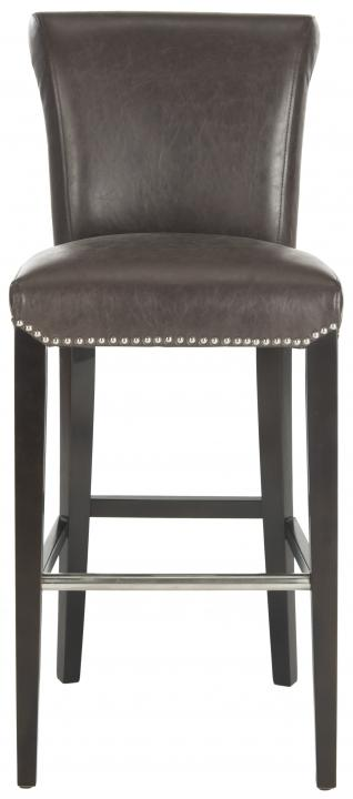 Safavieh - MCR4510G SETH BAR STOOL - ANTIQUE BROWN
