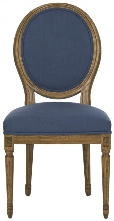 Safavieh   MCR4517G PARIS OVAL SIDE CHAIR (SET OF TWO)