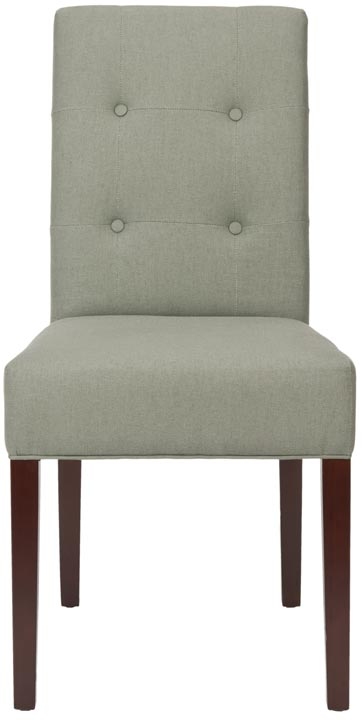 Safavieh - MCR4526B SAXTON SIDE CHAIR - GRAY (SET OF ...