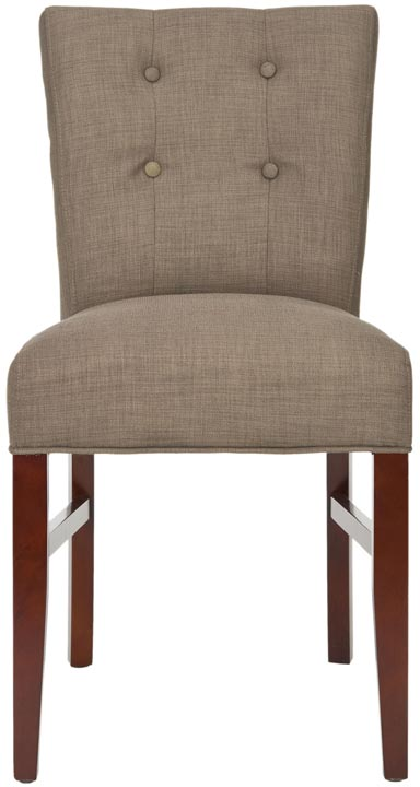 Safavieh - MCR4528B TREVOR SIDE CHAIRS - OLIVE (SET ...
