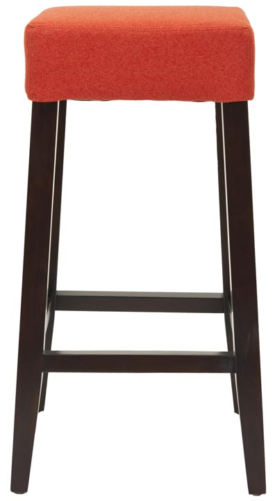 Safavieh - MCR4530C BENSON BARSTOOL - BURNT ORANGE