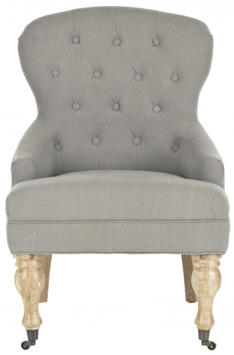 Safavieh - MCR4544C FALCON ARM CHAIR - GRANITE
