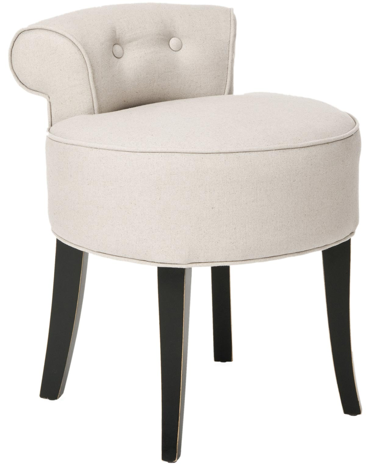 Magnificent Safavieh Mcr4546A Georgia Vanity Chair Ivory 441 00 Ibusinesslaw Wood Chair Design Ideas Ibusinesslaworg
