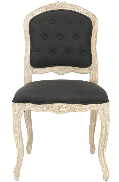 Safavieh - MCR4551A CARISSA SIDE CHAIR - BLACK (SET)...
