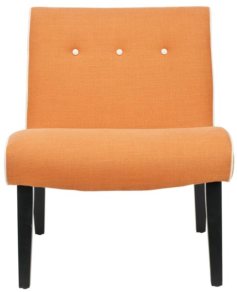 Safavieh - MCR4552A MANDELL CHAIR - ORANGE