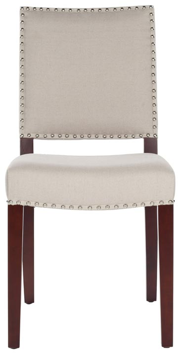 Safavieh - MCR4556A JAMES SIDE CHAIR - TAUPE