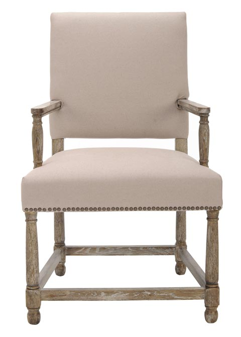Safavieh - MCR4558A FAXON ARM CHAIR
