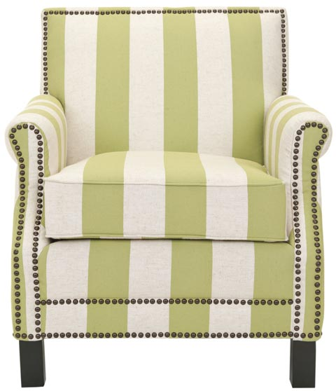 Safavieh - MCR4572C EASTON CLUB CHAIR
