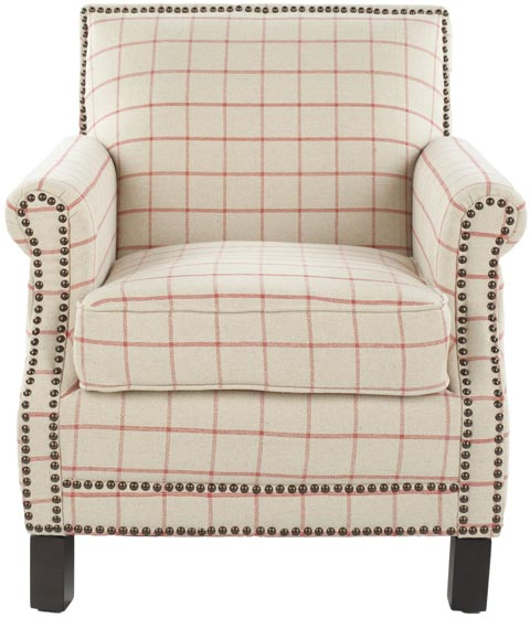 Safavieh - MCR4572D EASTON CLUB CHAIR