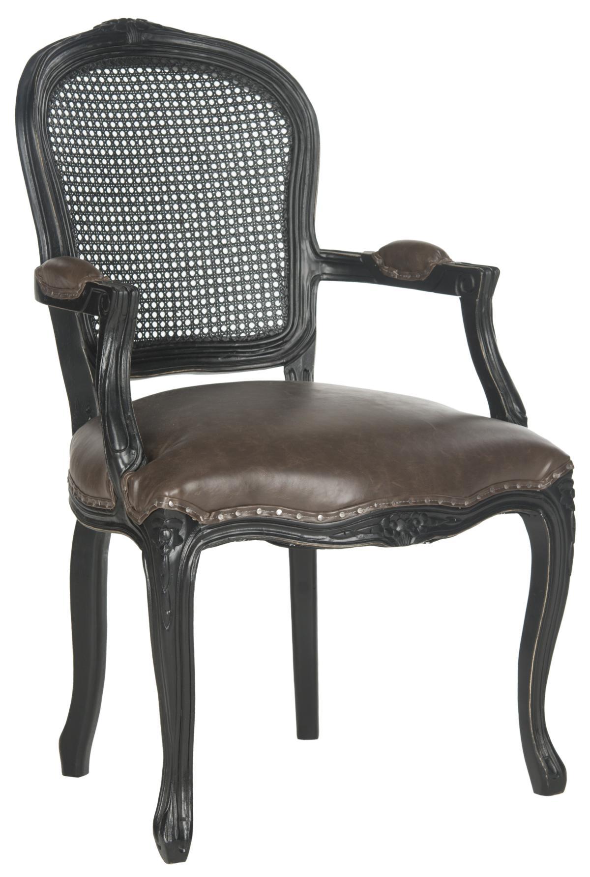 Safavieh MCR4576C MCKENNA ARM CHAIR $801 00 Accent Chairs