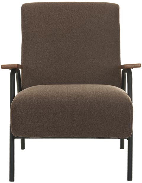 Safavieh - MCR4606A REUBEN ARM CHAIR - BROWN