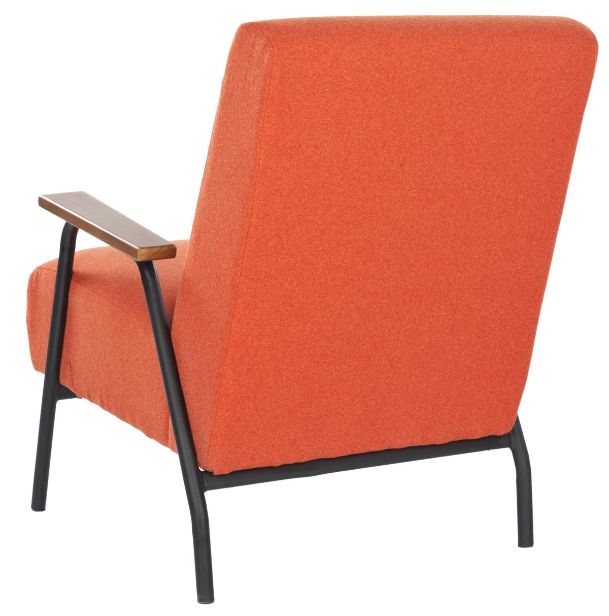 Safavieh - MCR4606B REUBEN ARM CHAIR - ORANGE