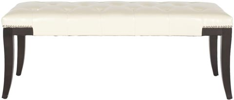 Safavieh - MCR4614B GIBBONS BENCH - CREAM