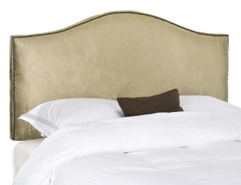 Safavieh - MCR4620E CONNIE CHAMPAGNE HEADBOARD