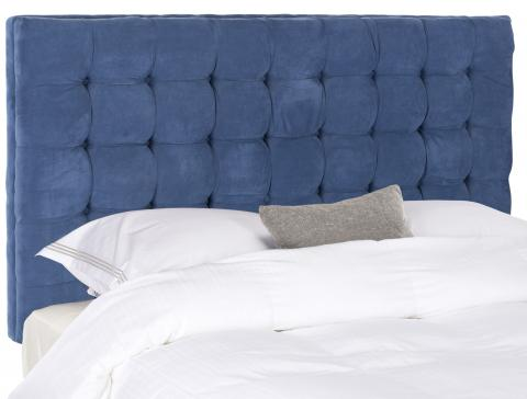 Safavieh - MCR4625C LAMAR ROYAL BLUE HEADBOARD